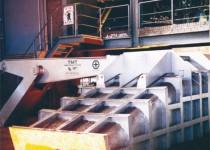 TMT kryt odtokového kanálu surového železa